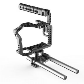 Cage 8Sinn a7RIIa/7SII  + Top Handle Basic + Universal Rod Support